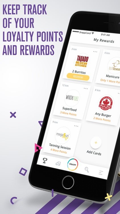 SnappCard - Your Rewards App