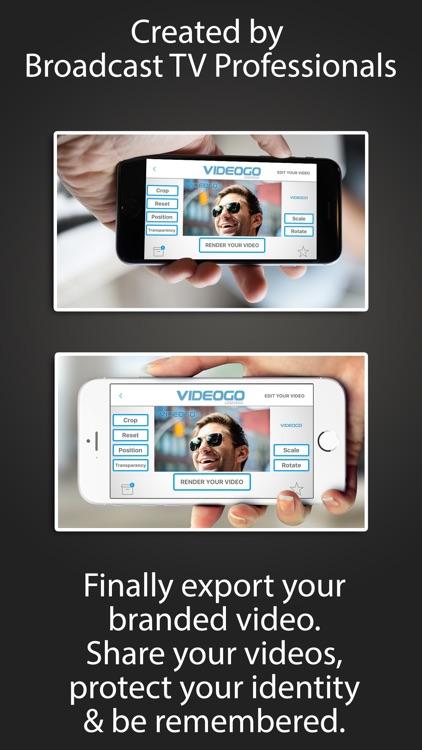 Logo2Go - Logo Burner & Video Watermark screenshot-3