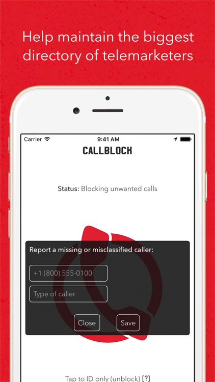 Callblock screenshot-2