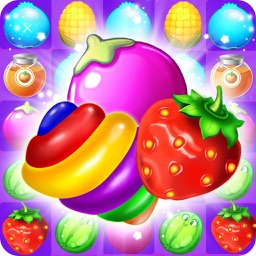 Crazy Fruit Adventure: Match 3 Game