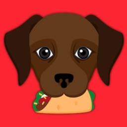 Dark Chocolate Labrador Retriever Stickers