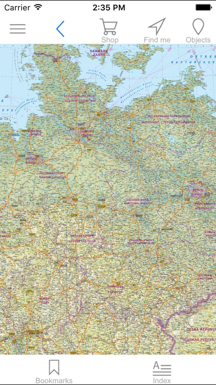 Tourist Map Of Germany.Germany Road And Tourist Map By Agt Geocentre