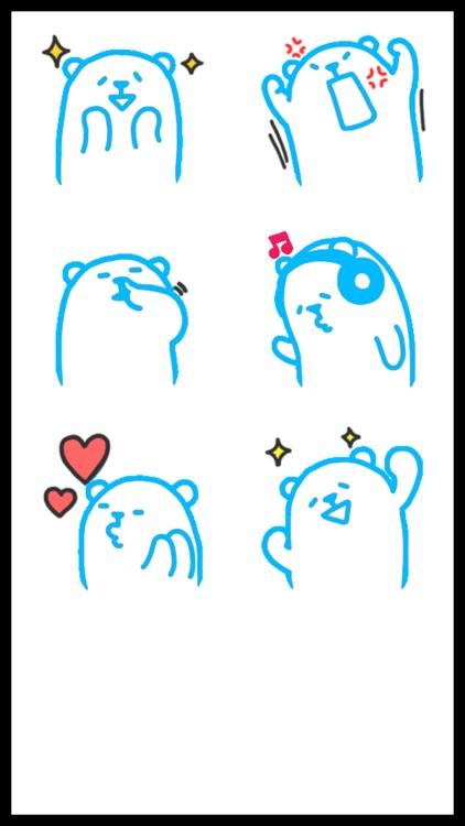 Umka Bear Best Stickers screenshot-4