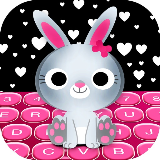 Love Keyboard for Girls Pink Themes, Emoji & Fonts