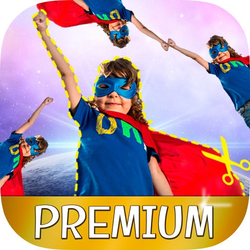 Cut paste photo editor and stickers – Pro