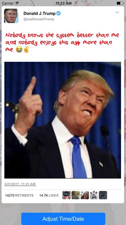 Fake Trump Tweets Golden Version
