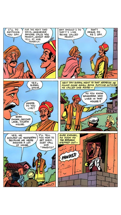 The Inimitable Birbal - Amar Chitra Katha Comics screenshot-2