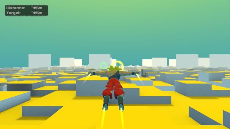 Super Goku Saiyan Fight 3D screenshot-3