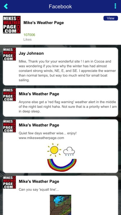 Mike's Weather Page for Windows