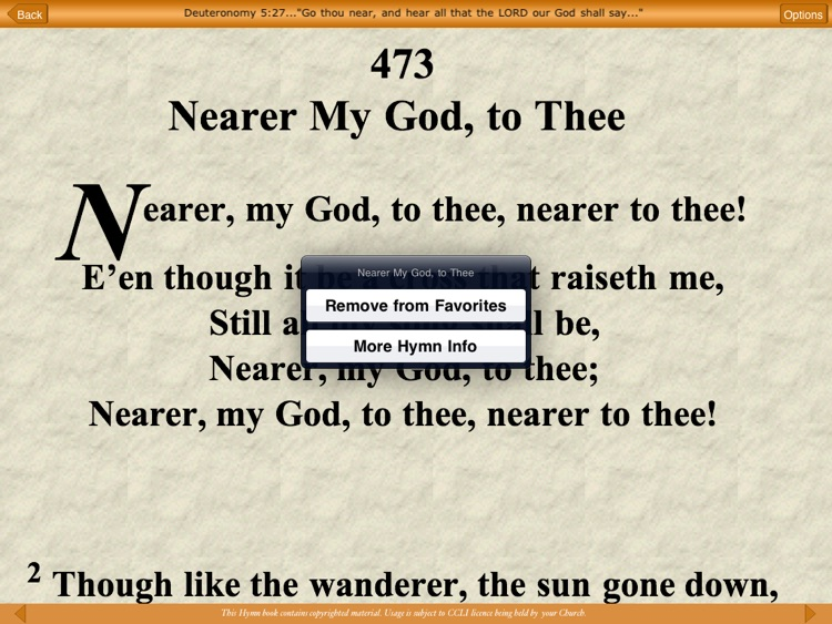 Advent e-Hymns for iPad screenshot-3