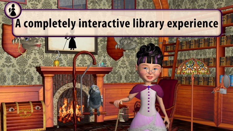 The Library of Miss Gadish app image