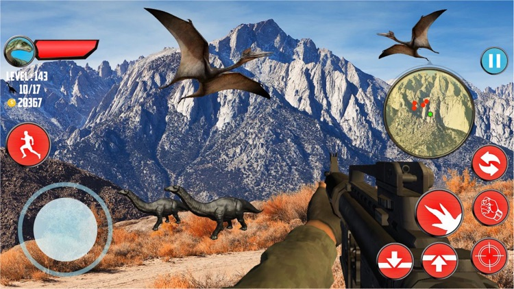 Call of Dinosaur Jurassic Hunter 3D screenshot-3