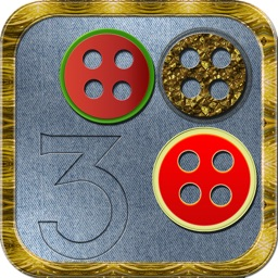 Button Match 3 Mania - 3D Puzzle Game