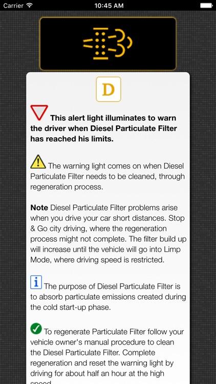 Land Rover - Range Rover Warning Lights & Problems screenshot-3