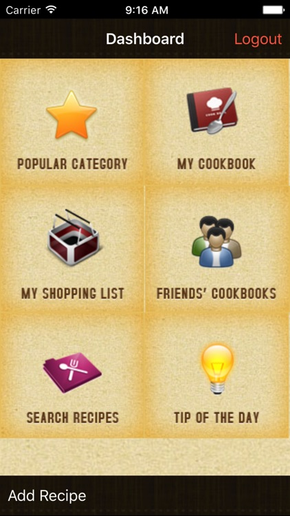 Dish Dish – Online Cookbook screenshot-0