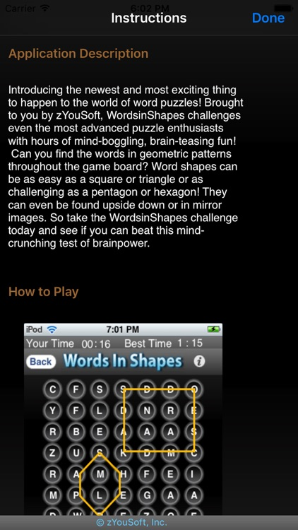 Words in Shapes screenshot-4
