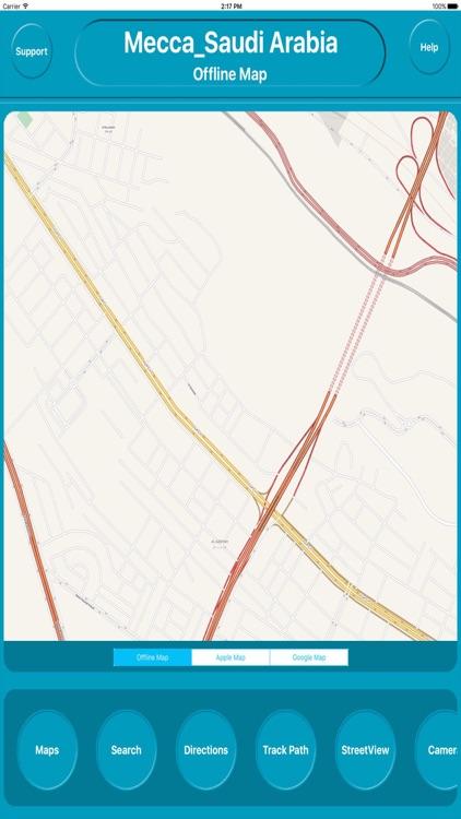 Mecca Saudi Arabia Offline Map Navigation