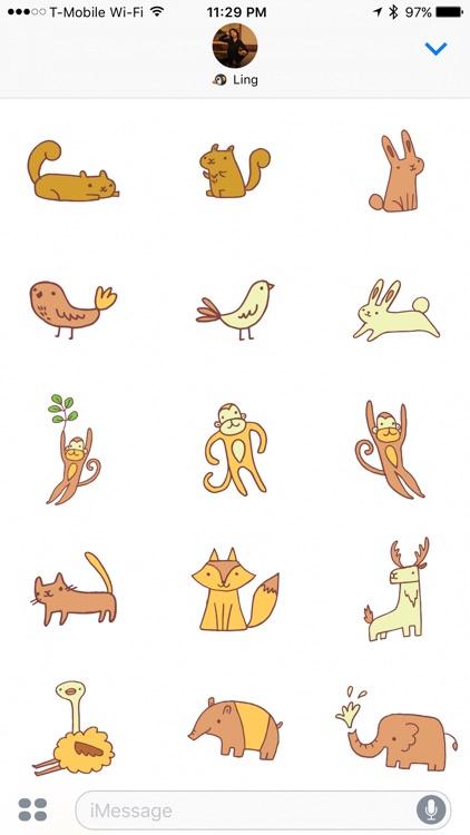 Zoo Friends - Fun Animal Puns with Speech Bubbles screenshot-4