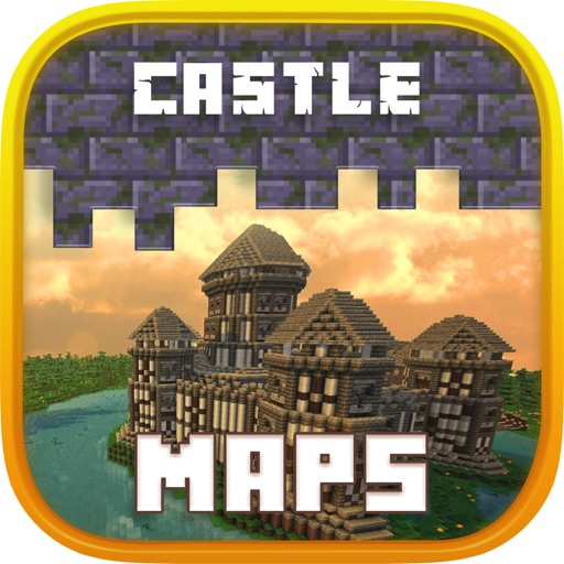 Castle Maps for Minecraft - for PE Pocked Edition.