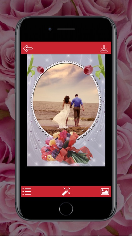 Flower Photo Frame - Instant Frame Maker screenshot-1