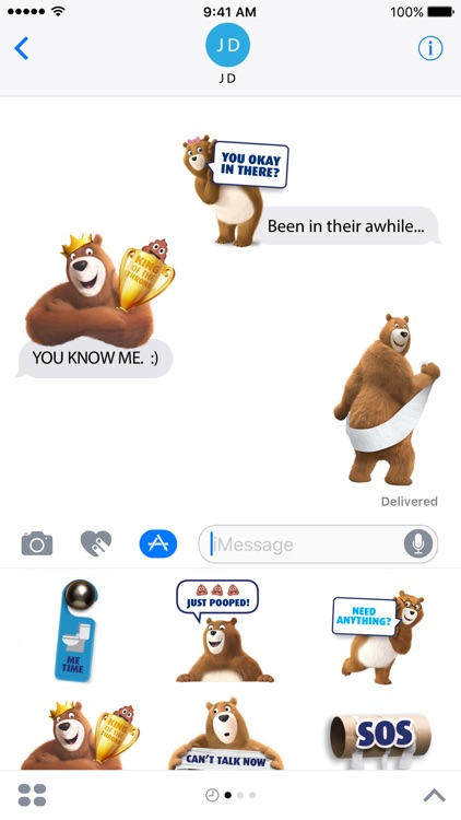 Charmin Pooptastic Stickers screenshot-1
