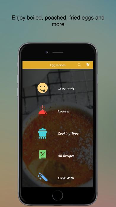 Egg Recipes SMART Cookbook screenshot one