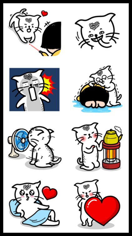 Funny Cat Sticker Pack