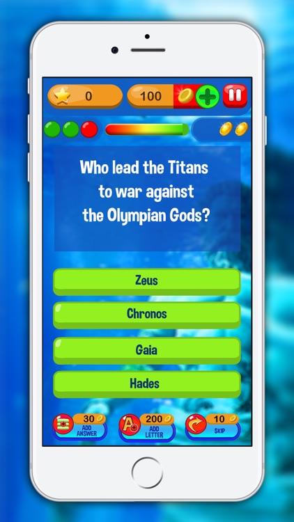Greek Mythology Trivia Quiz - Free Knowledge Game screenshot-3