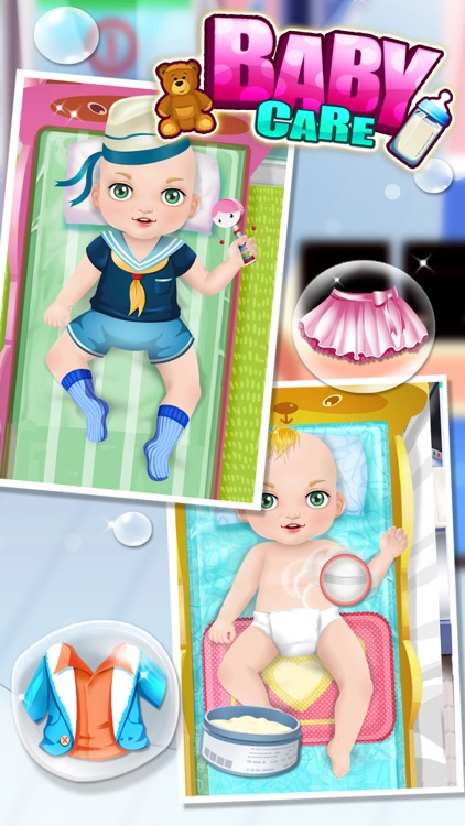 Baby Care - Kids Games