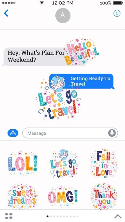 Flirty Texting Stickers