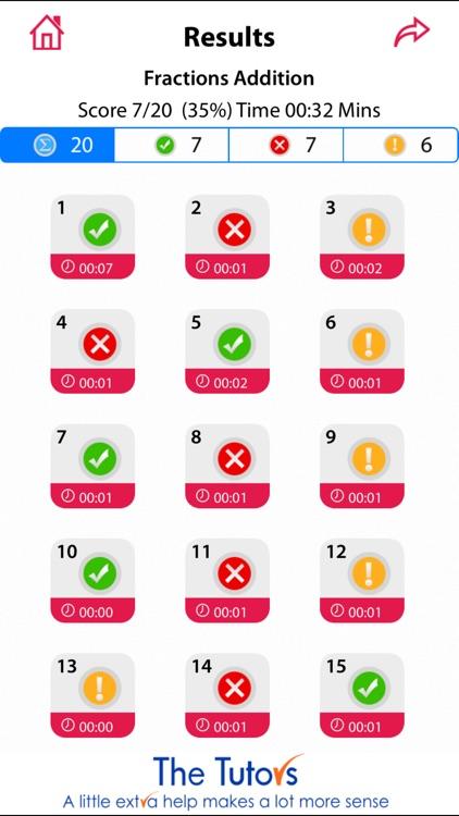 11+ Maths Vol. I Lite by The Tutors screenshot-3