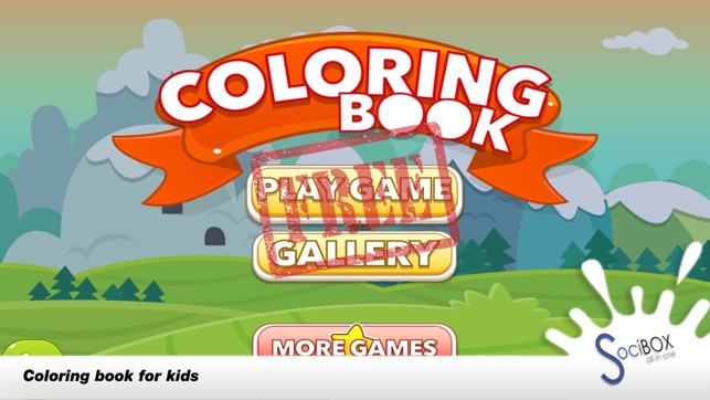 Cake Game For Kids - Cake Coloring on the App Store