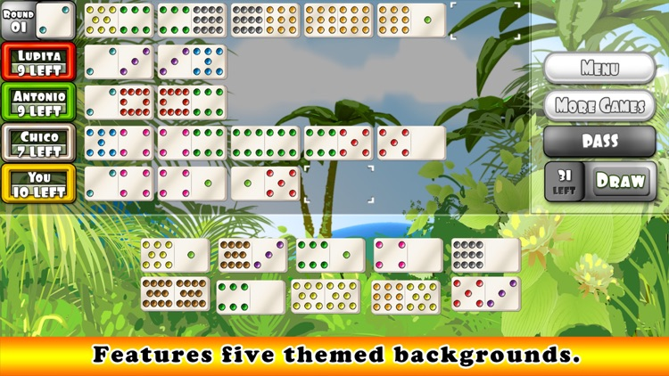 Mexican Train Dominoes Gold (Dominos) screenshot-3