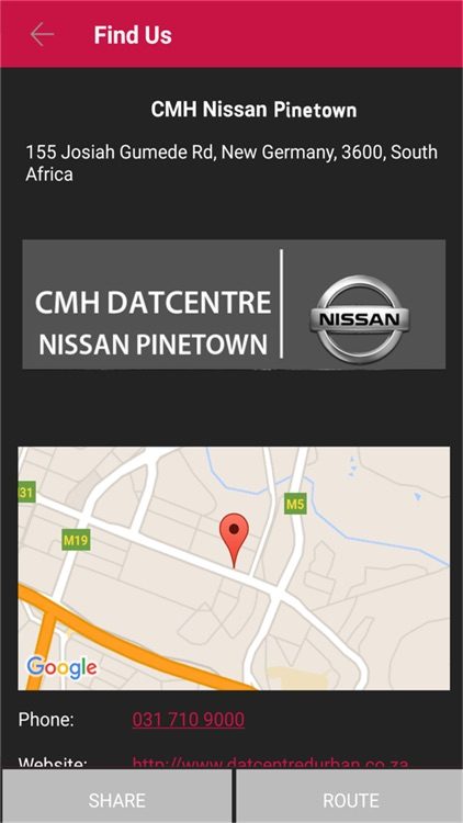 CMH Nissan Pinetown screenshot-3