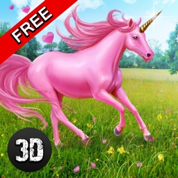 My Little Unicorn Rider 3D