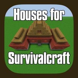 Houses for Survivalcraft - Including Super Guide