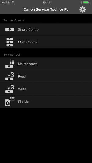 Canon Service Tool for PJ on the App Store