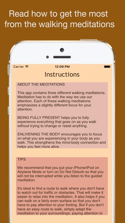 Walking Meditations screenshot-4