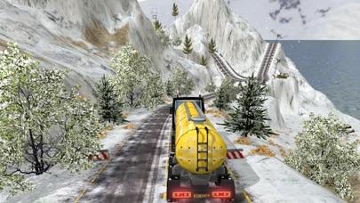 グランド雪のトラックのシミュレーター: 貨物トラック ドライバーの 3 Dのおすすめ画像3