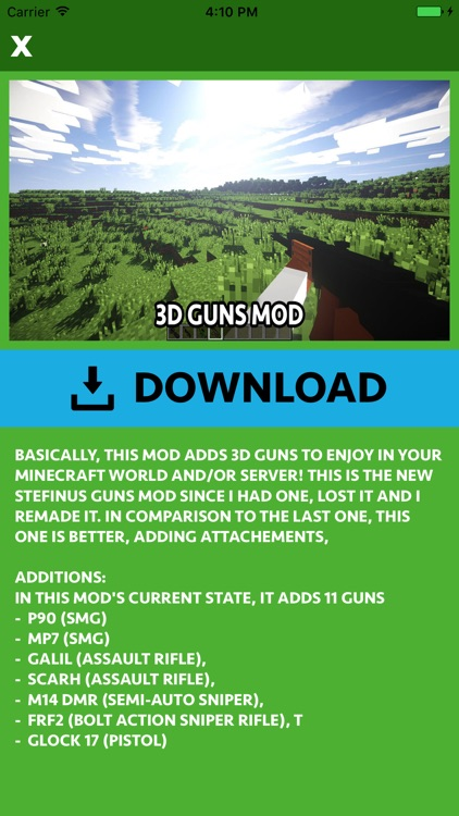 GUNS ADDON & MODS for Minecraft Edition screenshot-3
