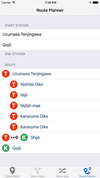 Kyoto Metro Screenshot 2