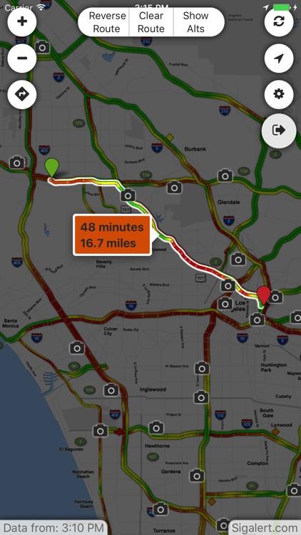 Sigalert.com - Live traffic reports screenshot-3