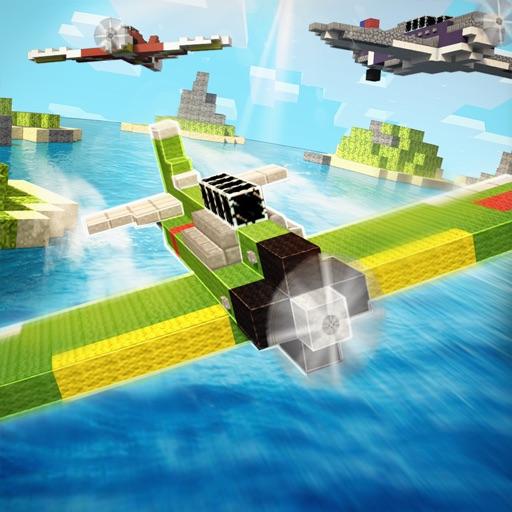 BlockWorld War Racer | Aircraft Battle Game
