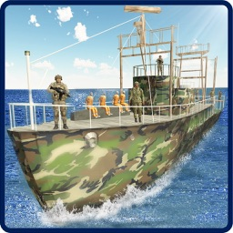 Army Prisoner Transport Ship–Mega Vessel Boat Game