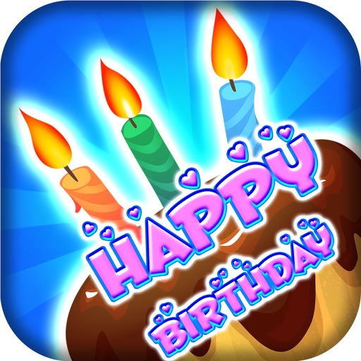 Happy birthday greeting card maker photo frame app data review happy birthday greeting card maker photo frame app logo m4hsunfo