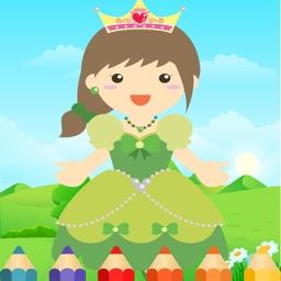 Pretty Princess Coloring