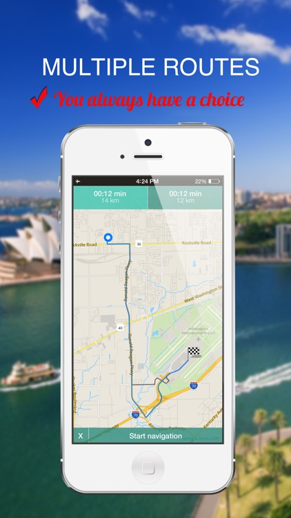 Vancouver, Canada : Offline GPS Navigation