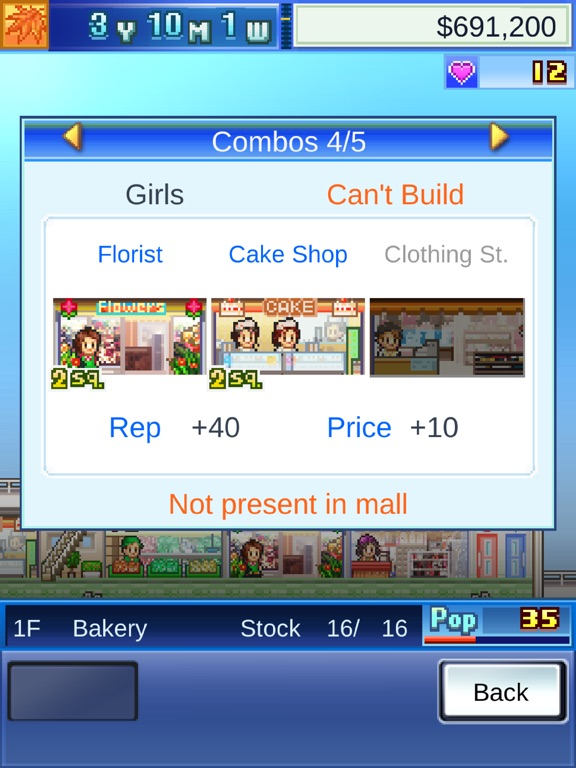 Mega Mall Story Screenshots