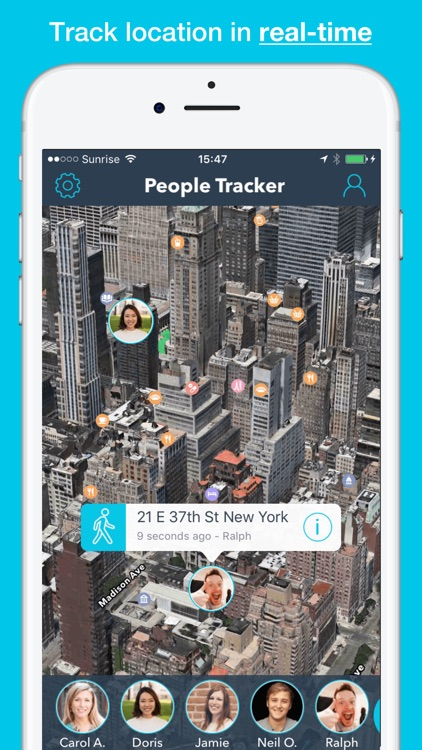 People Tracker Pro - Cell phone tracker app! screenshot-0