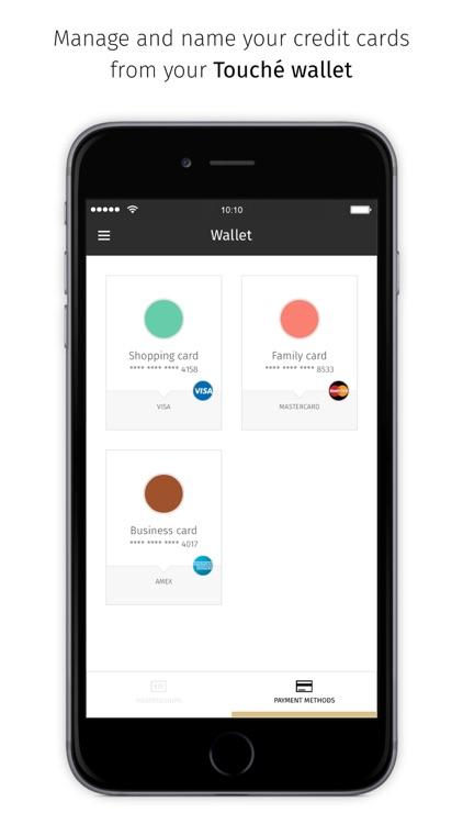 Touché - Manage your wallet